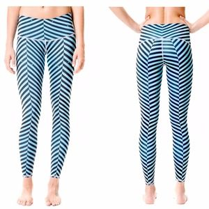 TEEKI NWT Blue Balanced Traveler Hot Pants S